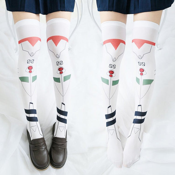 Kawaii Cartoon EVA Cosplay Stockings KW179745