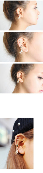 [SALE!] J-fashion Kawaii Fairy Unicorn Earring KW179223 - kawaiimoristore
