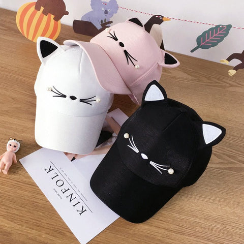 Cute Kawaii Cat Ear Hat KW168471