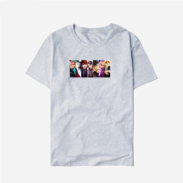 4 Colors BTS Team Tee Shirt