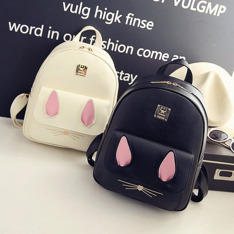 Cute Kawaii Backpack Four Pieces