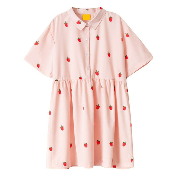 Strawberry Dress KW166876 - kawaiimoristore