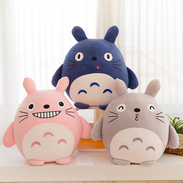 Cute Cartoon Totoro Pillow Doll - kawaiimoristore