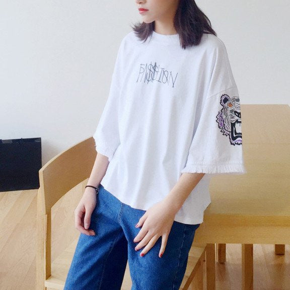 Harajuku Tiger Fashion T-shirt