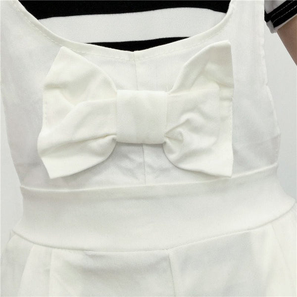 Sweet Bowknot Straps Shorts KW179865