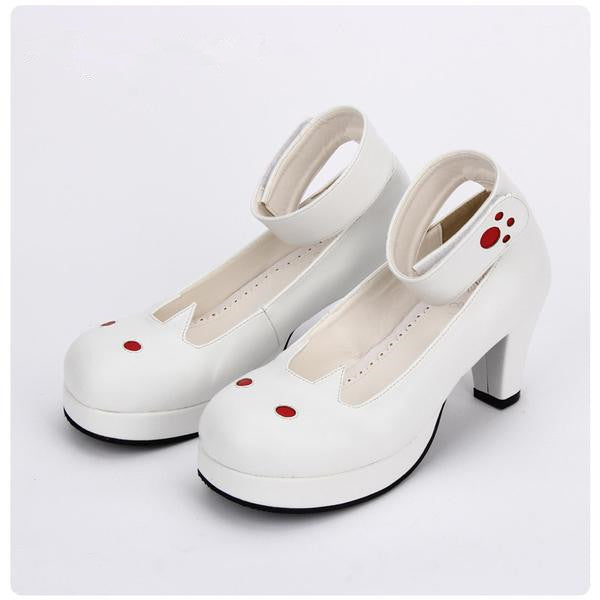 Kawaii Cat Ankle Strap Sweet Shoes KW1711236