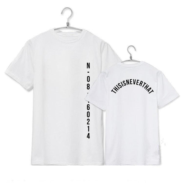 White/Pink/Black BTS Save Me Tee