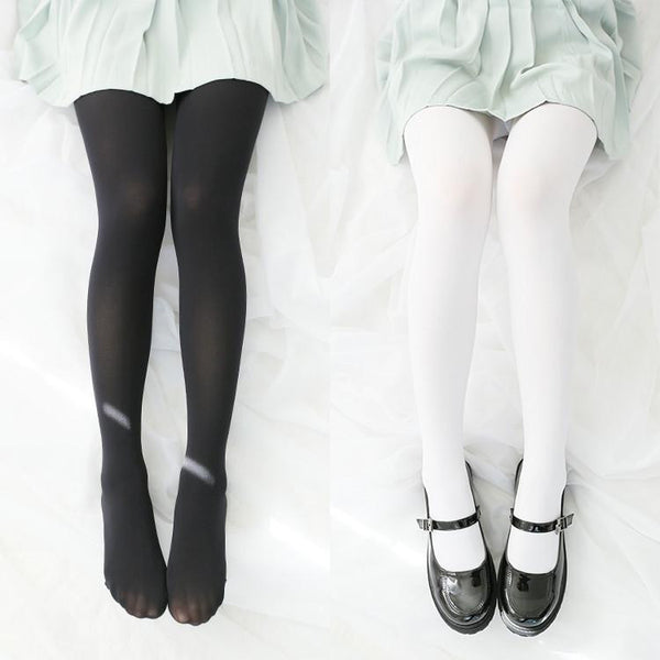 White/Black Pantyhose KW1711378