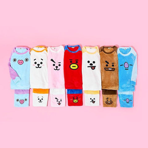 BTS BT21 Plush Pajama Set