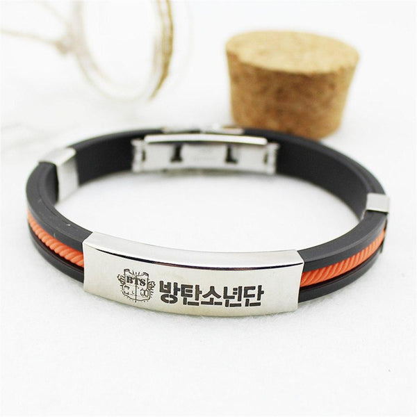 YellowOrangeBlue Cool BTS Bracelet