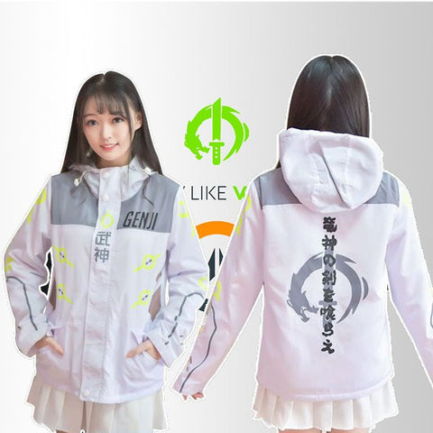 Overwatch Genji Winter Autumn Jacket