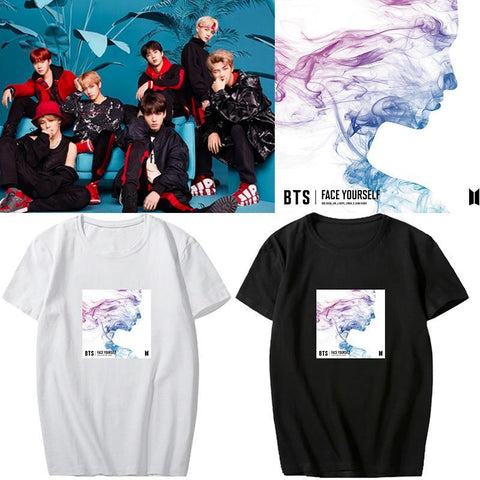 4 Colors BTS Face Yourself Tee Shirt