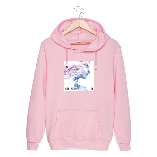 4 Colors BTS Face Yourself Hoodie Jumper