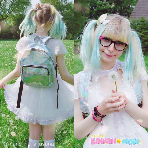 Harajuku Fashion Hologram Backpack KW179143