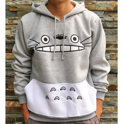 Cartoon Totoro Hoodie Jumper