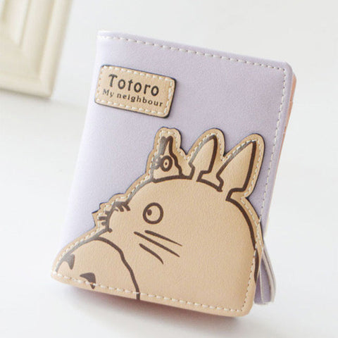 Cute Totoro Tassels Zipper Clutch Coin Purse KW178892