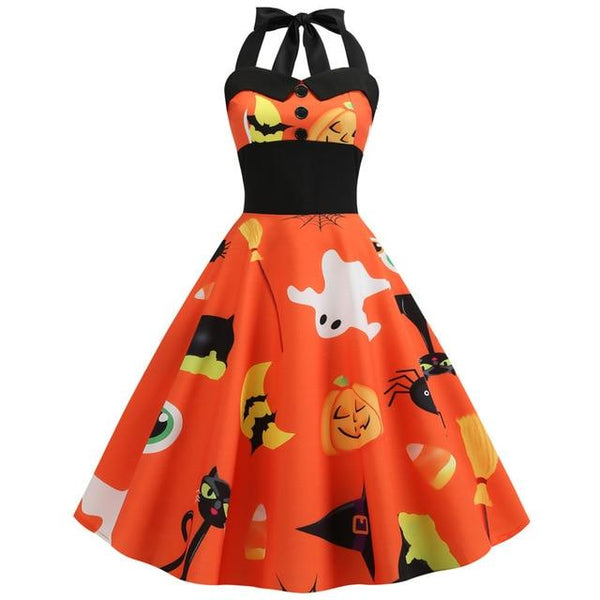 Sexy Halter Halloween Dress K14236