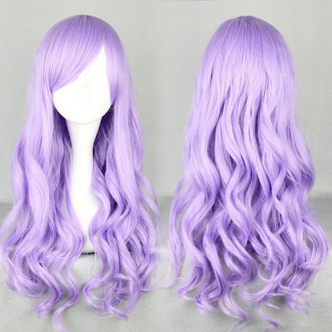 70cm Long Wave Classical Purple  Cosplay Lolita Wig