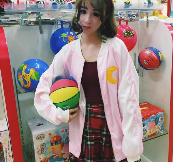Sailor Moon Baseball Jacket KW178813