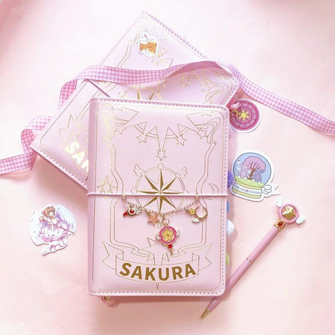 3 Styles Card Captor Sakura Magic Notebook Set K032