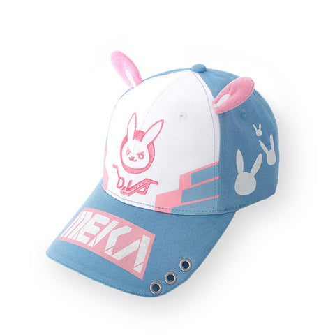 DVA overwatch Rabbit Ear  Baseball Cap KW168589