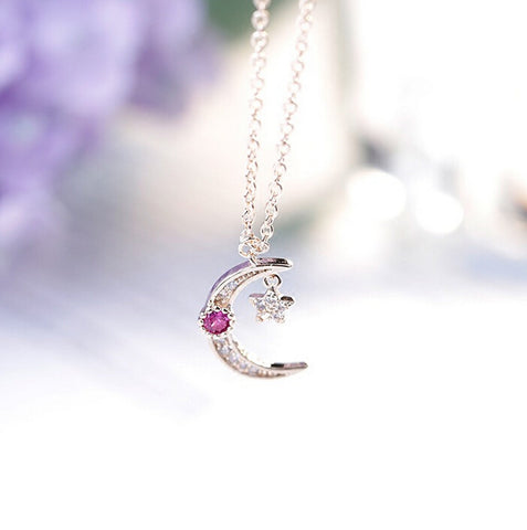 Sailor Moon Star 925 Sterling Silver  Necklaces