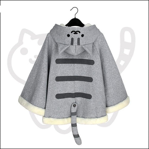 Winter Cute Cat Hoodies Coat KW168276