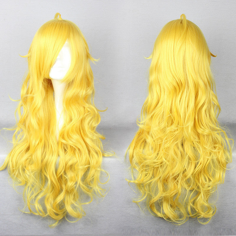 Long RWBY Yang Xiao Long Yellow Cosplay Wig