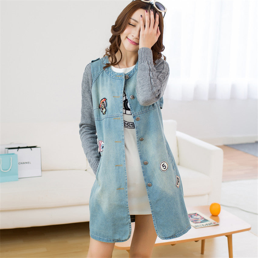 Trench Denim Coat