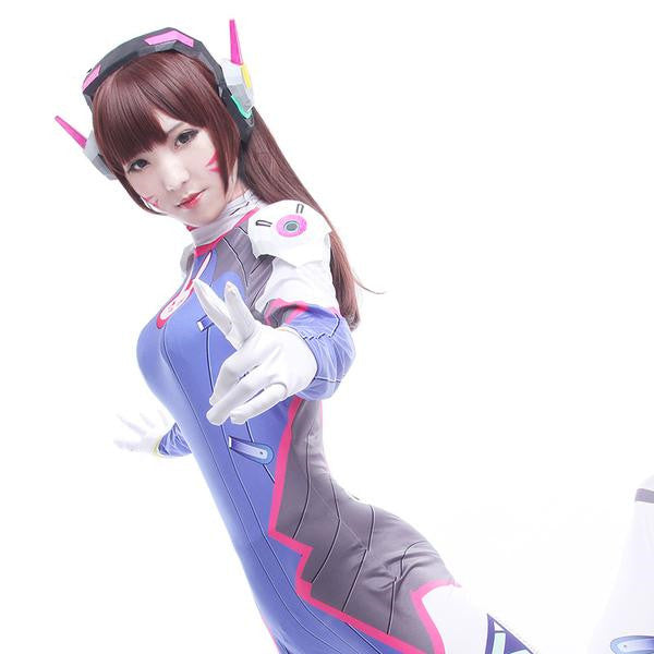 D.VA Cosplay Costumes Accessories Shoulder Knot