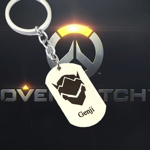 22 HERO Overwatch  Keychain