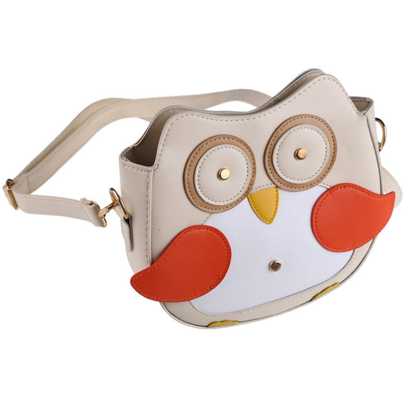 Cute Owl Pattern Small Shoulder Bag