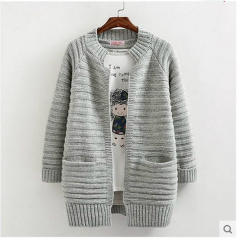 Long Loose Sweater Coat KW1710139