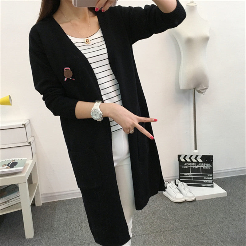 Knitted Cardigan Sweater Coat