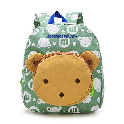 Cute Rabbit Bear Dolls Kids School Bags
