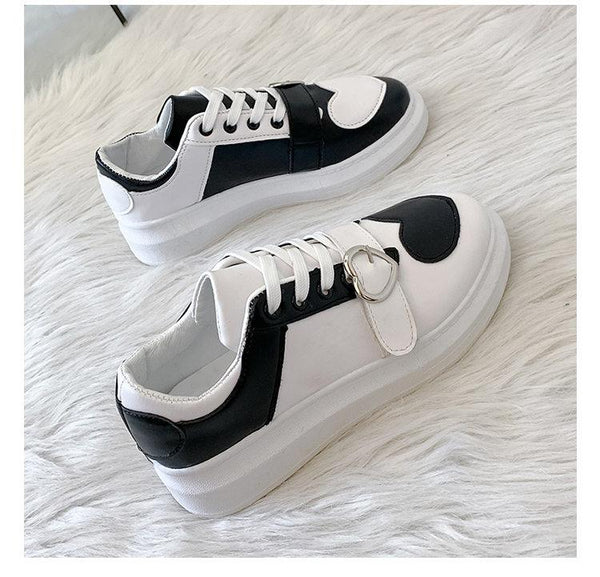 Heart Strap Kawaii Sneakers K15356 - kawaiimoristore