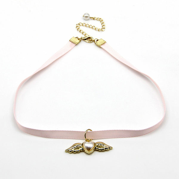 Cardcaptor Sakura Heart Wings Cosplay Choker