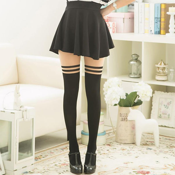 Over The Knee Lovely Stockings KW179417