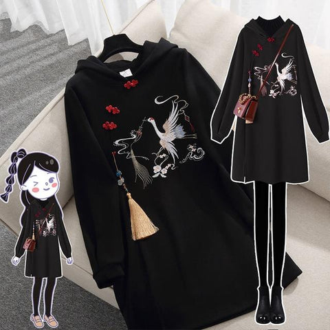 Retro Row Button Slim Sweatshirt Hoodie KK0967 - kawaiimoristore