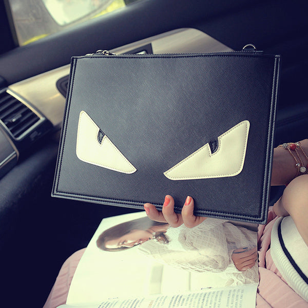 Devil Little Monster Personalized Eye Shoulder Bag