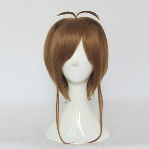 Brown Card Captor Sakura Cospaly Wigs
