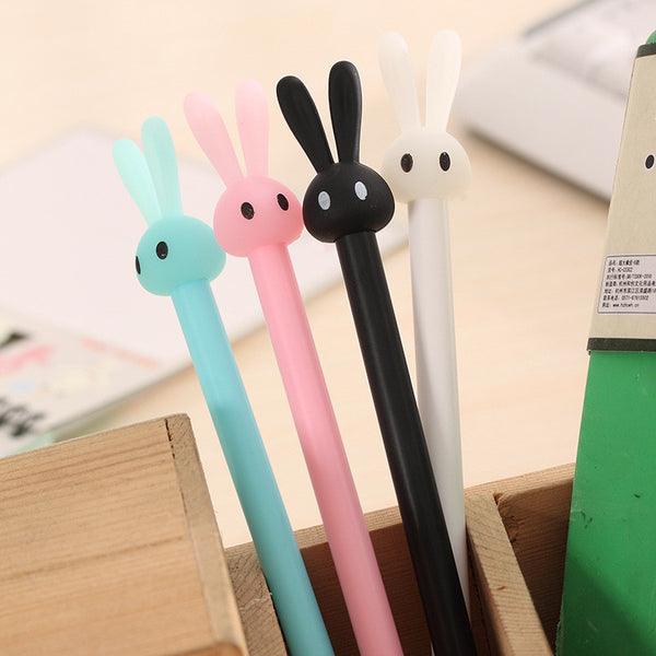 4Pcs/Lot Long Ear Rabbit Gel Pens KW1710449