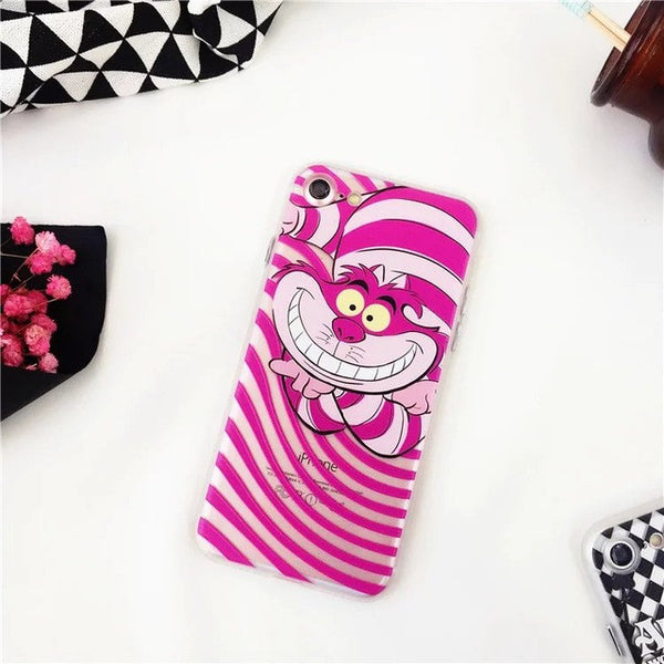 Alice in Wonderland Phone Cases for iPhone 7 7 Plus 6S 6 - kawaiimoristore