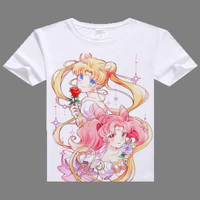 Sailor Moon Ddigital Printed  T-shirt