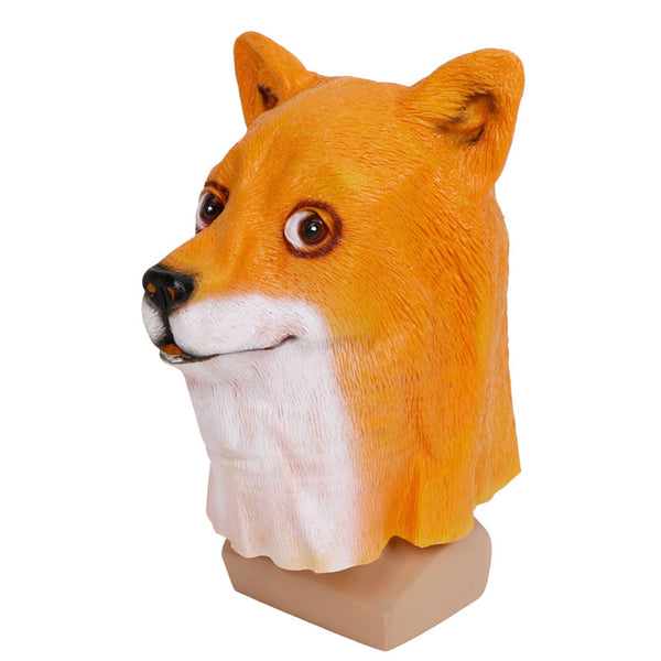 Dog Latex Head Mask