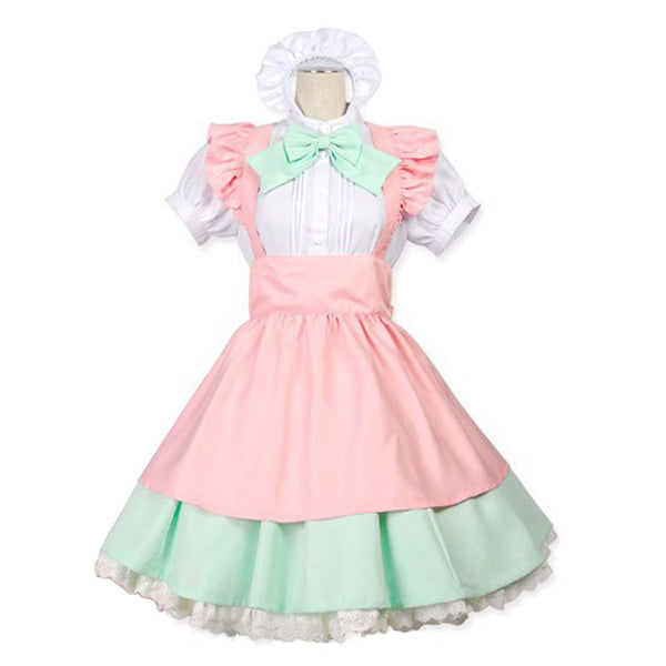 Bow Maid Cosplay Costume K13012 - kawaiimoristore