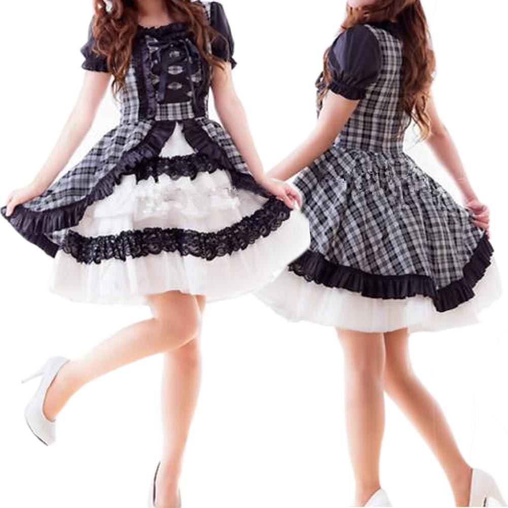 Maid Cosplay Lolita Dress