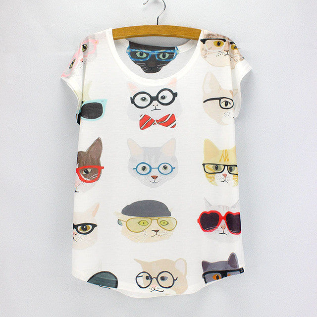 Cool Cats Printed Summer Tees KW1812418