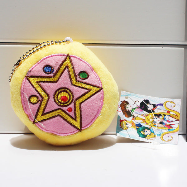 Sailor Moon Heart Crown Plush Toy
