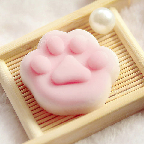 TPR Squishy Cat Paw Decompression Toy K12676